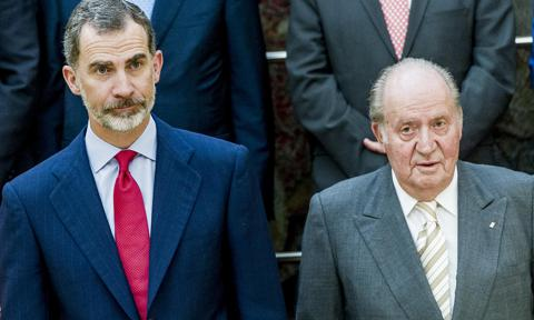 Palace confirms where King Felipe's father former King Juan Carlos is after move abroad