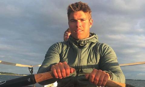 Princess Margaret's dashing grandson reunites with family after 'world's toughest rowing race'