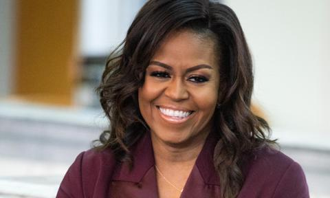 Michelle Obama's VOTE necklace has gone viral