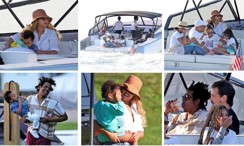 Beyoncé et Jay-Z en vacances avec le PDG de Twitter, Jack Dorsey