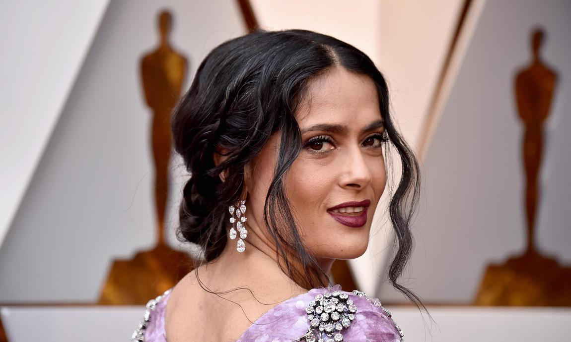 Salma Hayek Shares Photo Featuring Daughter Valentina While Looking Fabulous Celebrating Her 54th Birthday Celebsyou