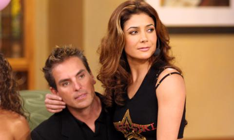 Patricia Manterola and Xavier Ortiz