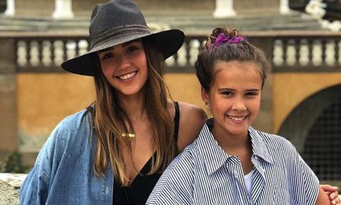 The reason Jessica Alba's daughter Honor made her cry