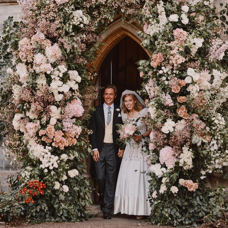 The couple tied the knot in a private ceremony on July 17
