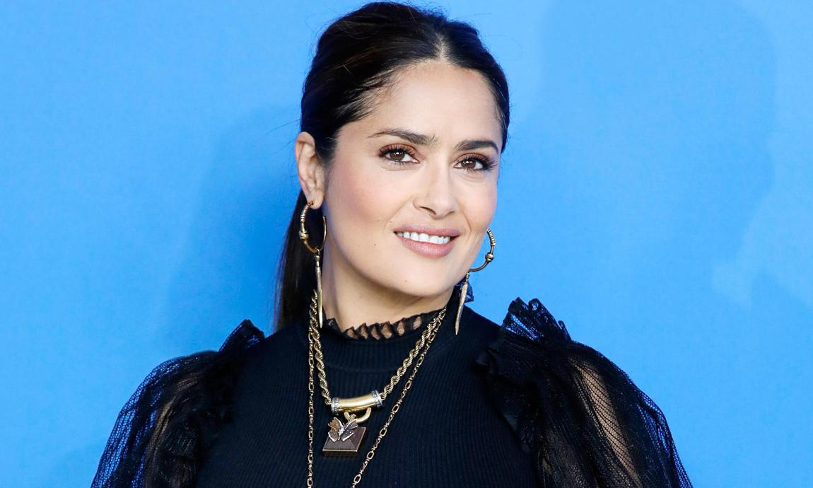Salma Hayek wows fans with bikini photos from the '90s