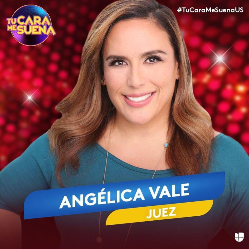 Angélica Vale Será Juez En Tu Cara Me Suena De Univision