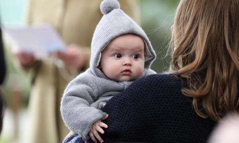 Baby Prince Charles of Luxembourg's adorable cheeks are the only thing you need to see today