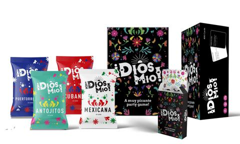 ¡Dios Mio! First fully bilingual card game