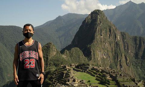 El Machu Picchu reabrió solo para un turista nipón