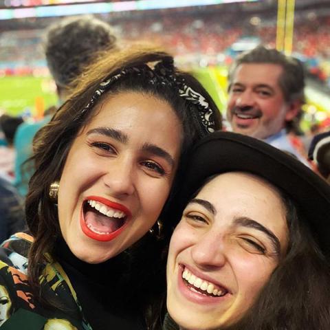 Emily Estefan y su novia Gemeny Hernandez