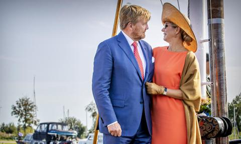 King Willem-Alexander Of The Netherlands and Queen Maxima Of The Netherlands Visit Region Friesland