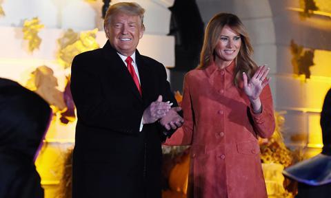 Melania Trump's White House Halloween celebration sparks backlash