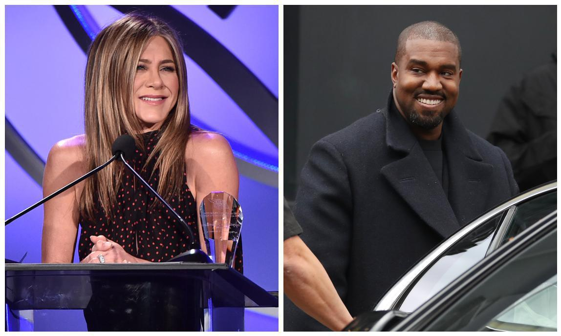 Kanye West responds back to Jennifer Aniston and announces he's building a futuristic city