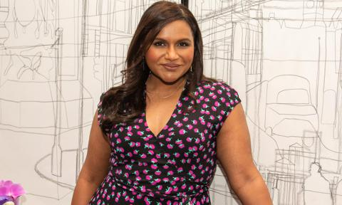 Mindy Kaling's daughter gets into the Halloween spirit