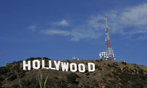 Hollywood Sign Repainting Project Completed With LA Mayor Antonio Villaraigosa