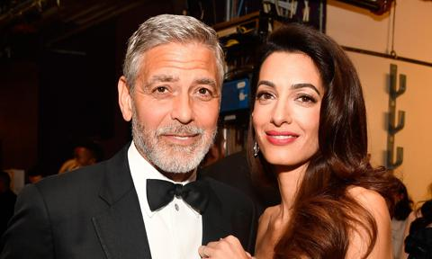 By George, Clooney cuts his own hair