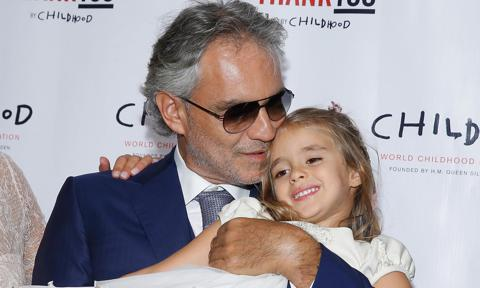Andrea Bocelli's 8-year-old daughter is stepping into the spotlight for his Christmas concert