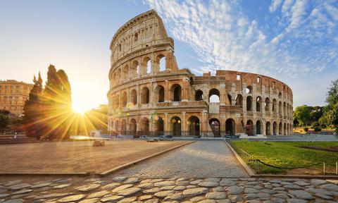 Coliseo Romano, Italia.