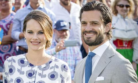 Prince Carl Philip and Princess Sofia expecting third child together