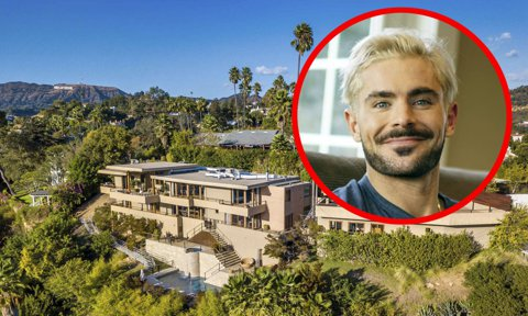 Zac Efron lists his home for sale for $5.9 million