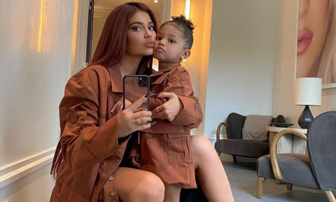 Kylie Jenner and her daughter, Stormi Webster