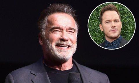 Arnold Schwarzenegger confuses his 'favorite son-in-law' Chris Pratt with Chris Evans