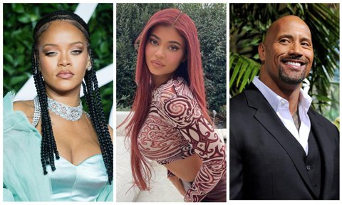 Rihanna, Kylie Jenner, Dwayne Johnson cheat meals