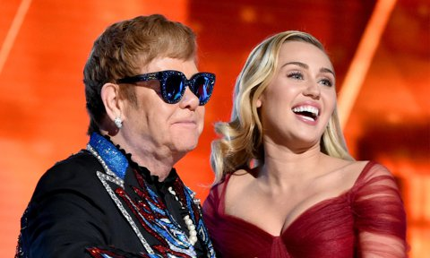 Miley Cyrus Says Elton John Featured on Metallica Covers Album Project