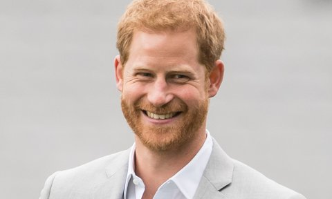 Does Prince Harry actually have a ponytail