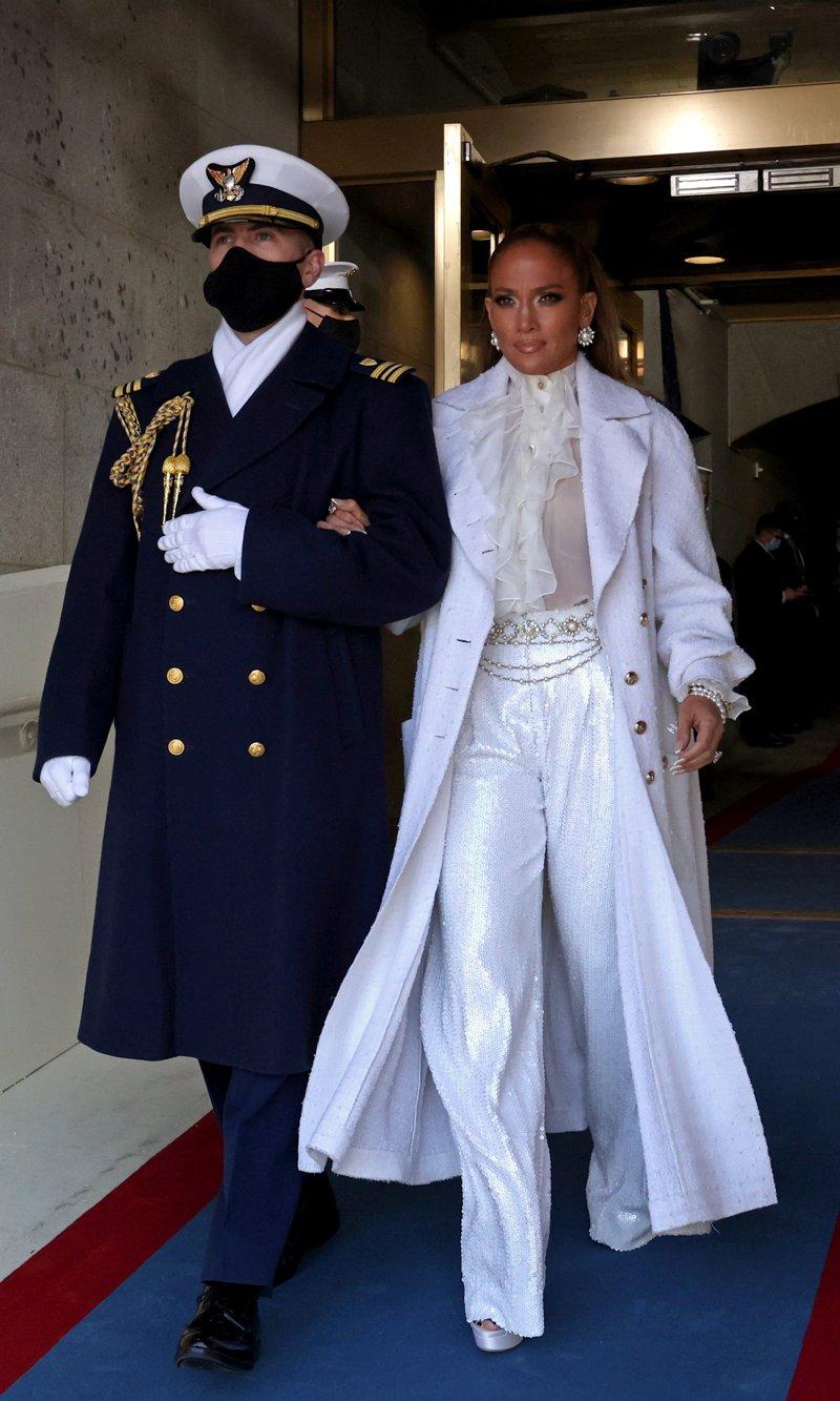 Jennifer Lopez at Inauguration Day