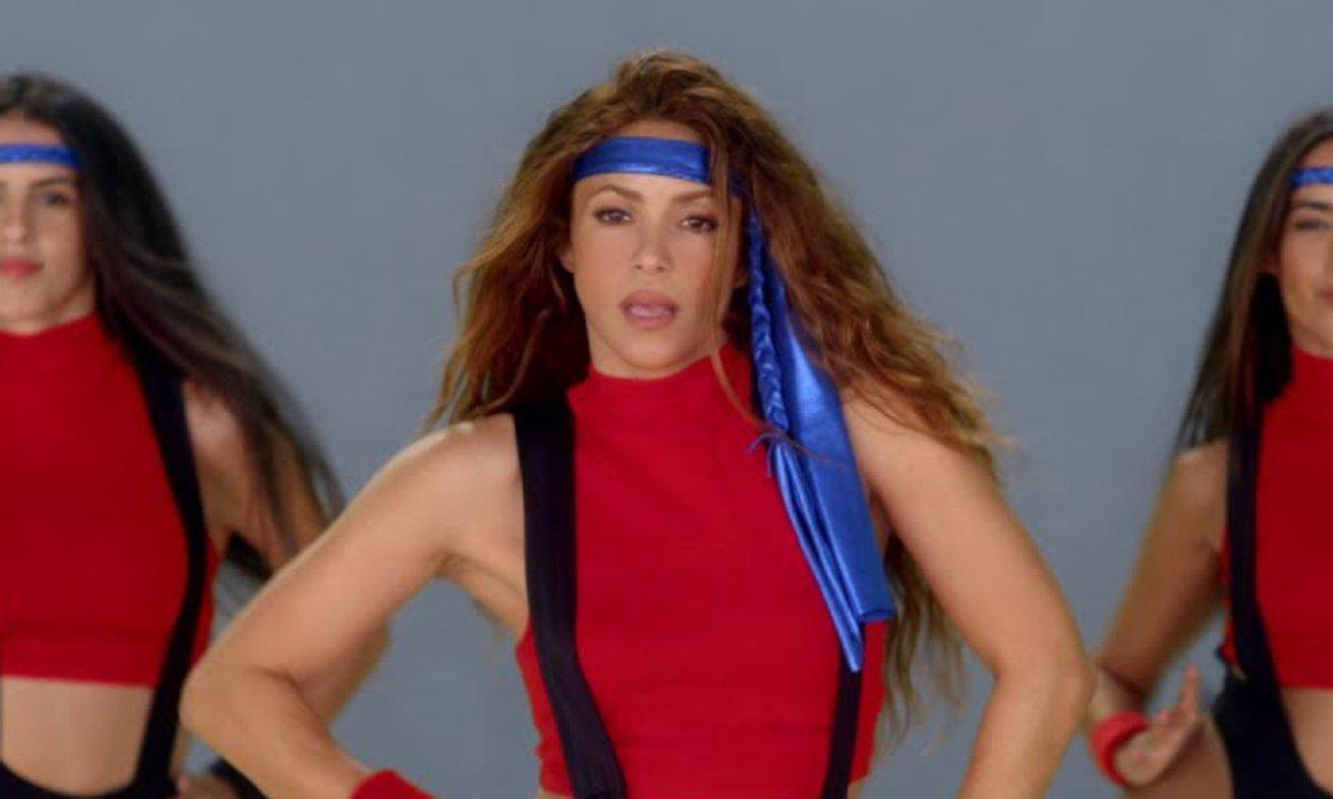 Shakira made her Jane Fonda dream come true with 'Girl Like Me'