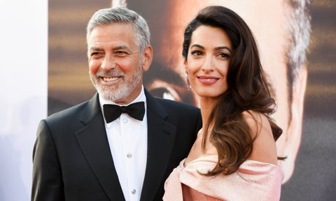 George Clooney says he did not want 'weird-a*s names' for his and Amal's twins