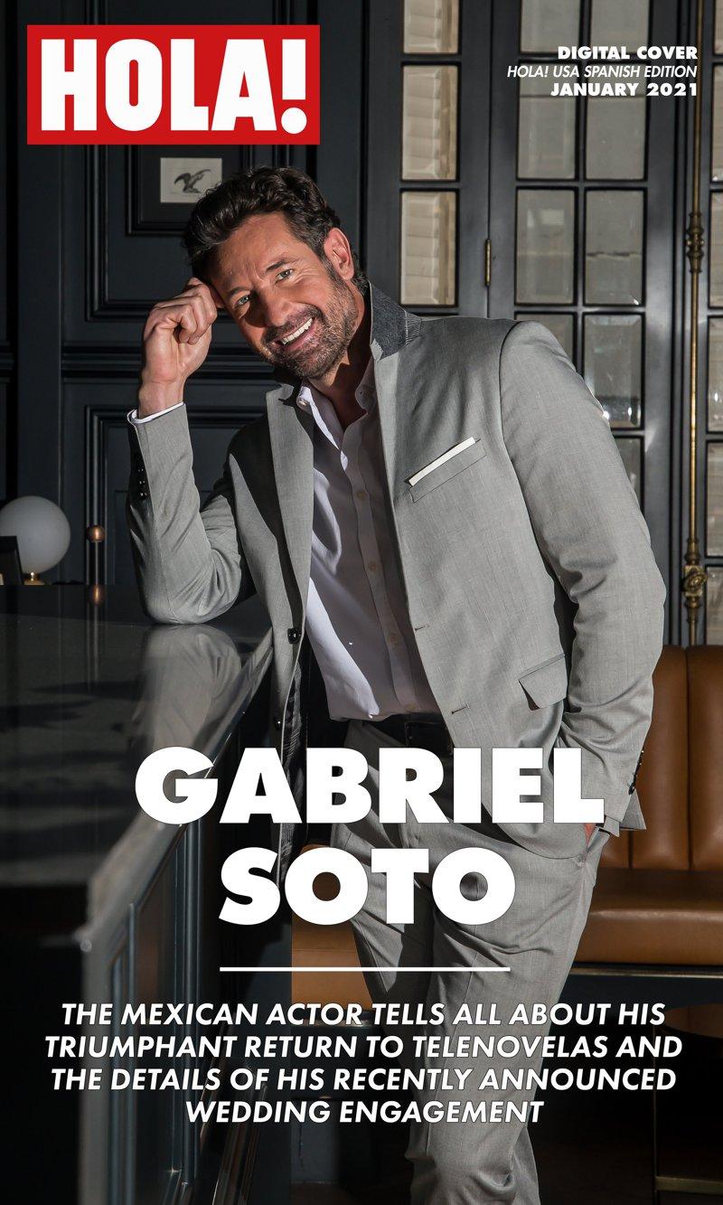 Gabriel Soto talks about his triumphant return to telenovelas