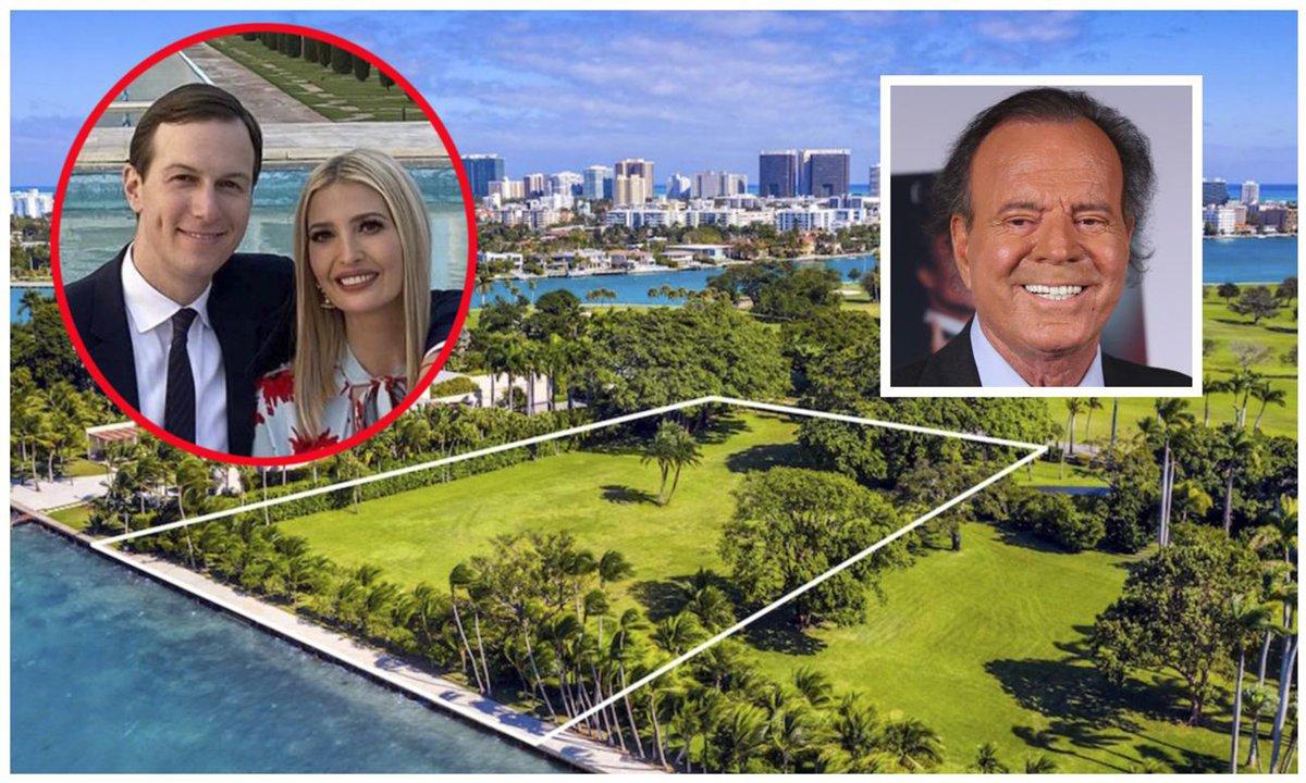 Details: Ivanka Trump and Jared Kushner Purchase $30 Million Lot from Julio Iglesias