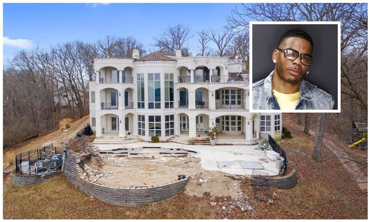 Nelly lists abandoned Mansion in Missouri for only $600,000