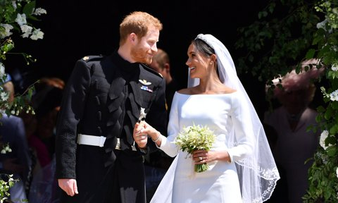 Meghan Markle reveals she and Prince Harry were married before royal wedding