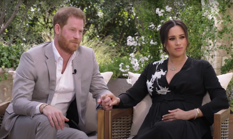 Prince Harry tells Oprah 'it has been unbelievably tough' for him and Meghan Markle