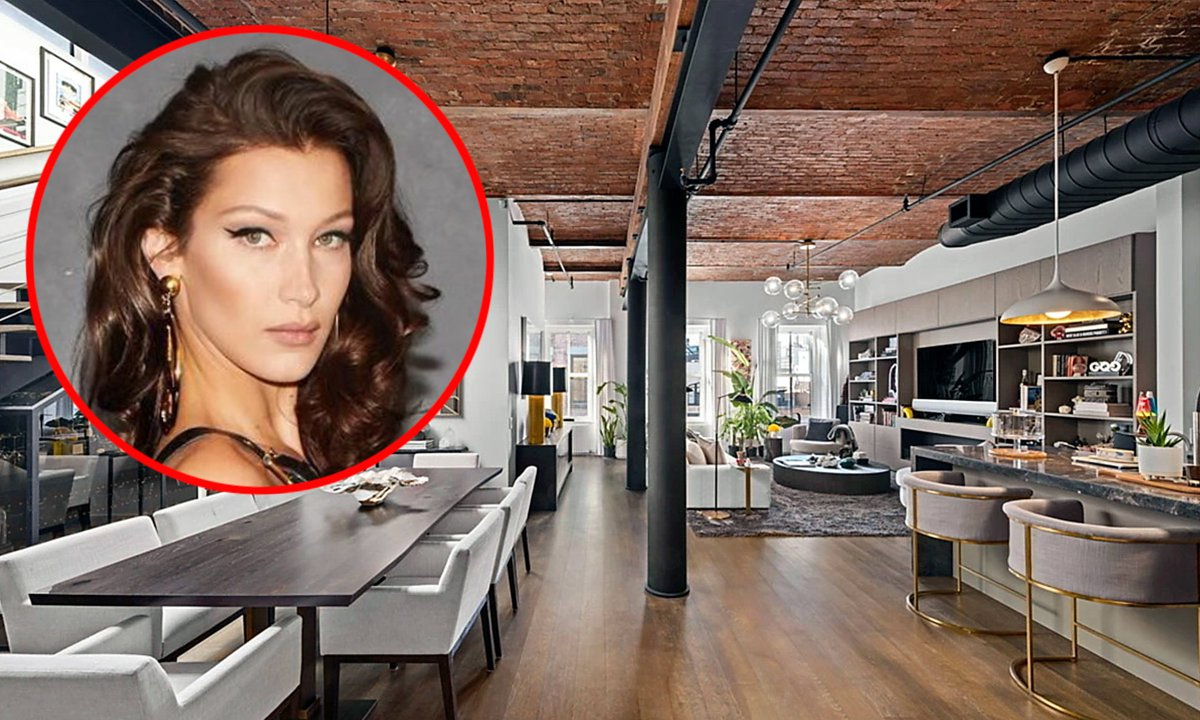 Bella Hadid is selling her SoHo penthouse nine months after purchasing it for over $6 million