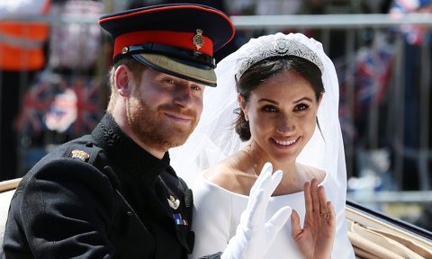 When Meghan Markle and Prince Harry actually got married