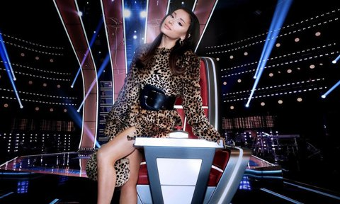Ariana Grande Joins The Voice for Season 21