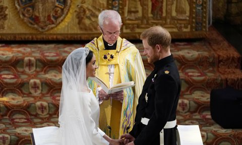 The Archbishop of Canterbury breaks silence on Meghan Markle's backyard wedding comment