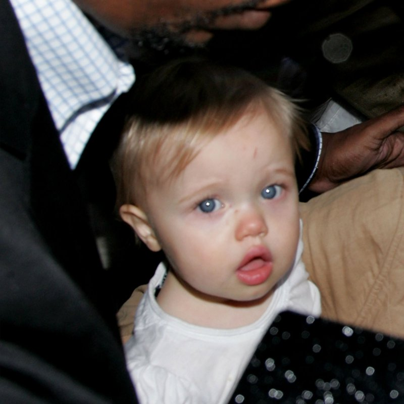 Boy or pitt girl shiloh a Zahara Jolie