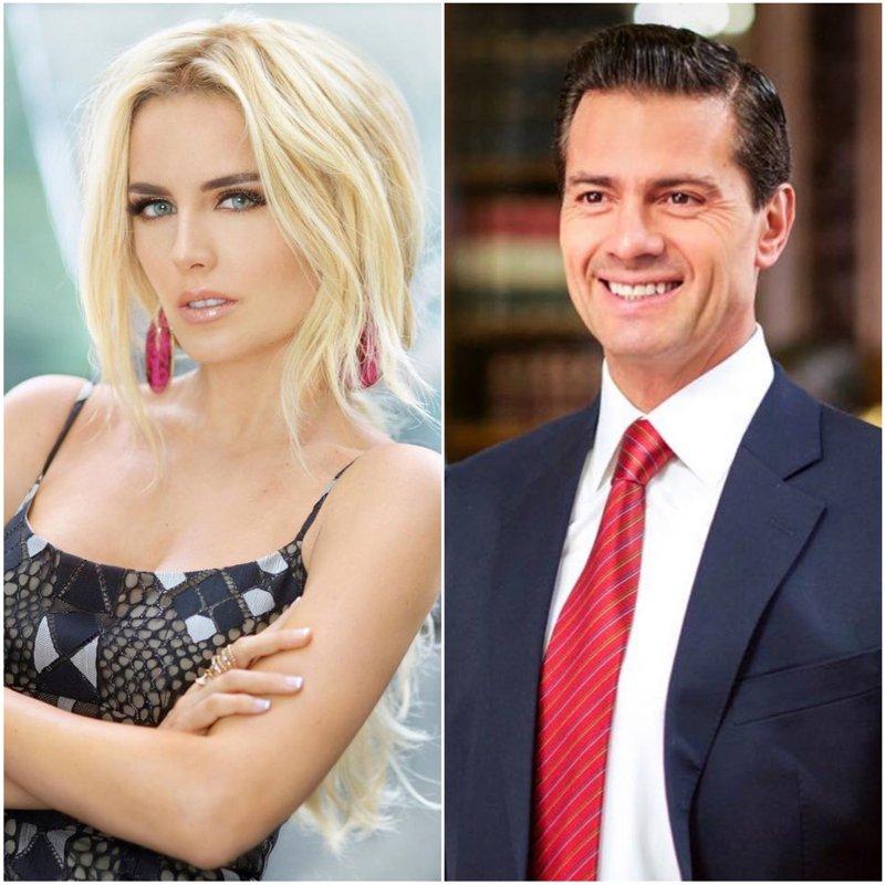 Enrique Peña Nieto and Tania Rui