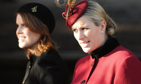 How two of Prince Philip's granddaughters honored him before his death