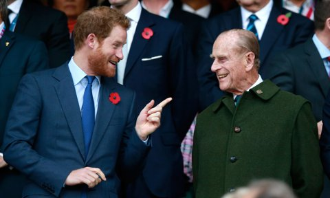 Prince Harry reveals grandfather Prince Philip was a 'master of the barbecue' and 'cheeky right 'til the end'
