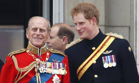 Prince Harry remembered his grandfather as a master of the barbecue