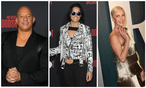 Vin Diesel, Michelle Rodriguez, Charlize Theron in 'F9'