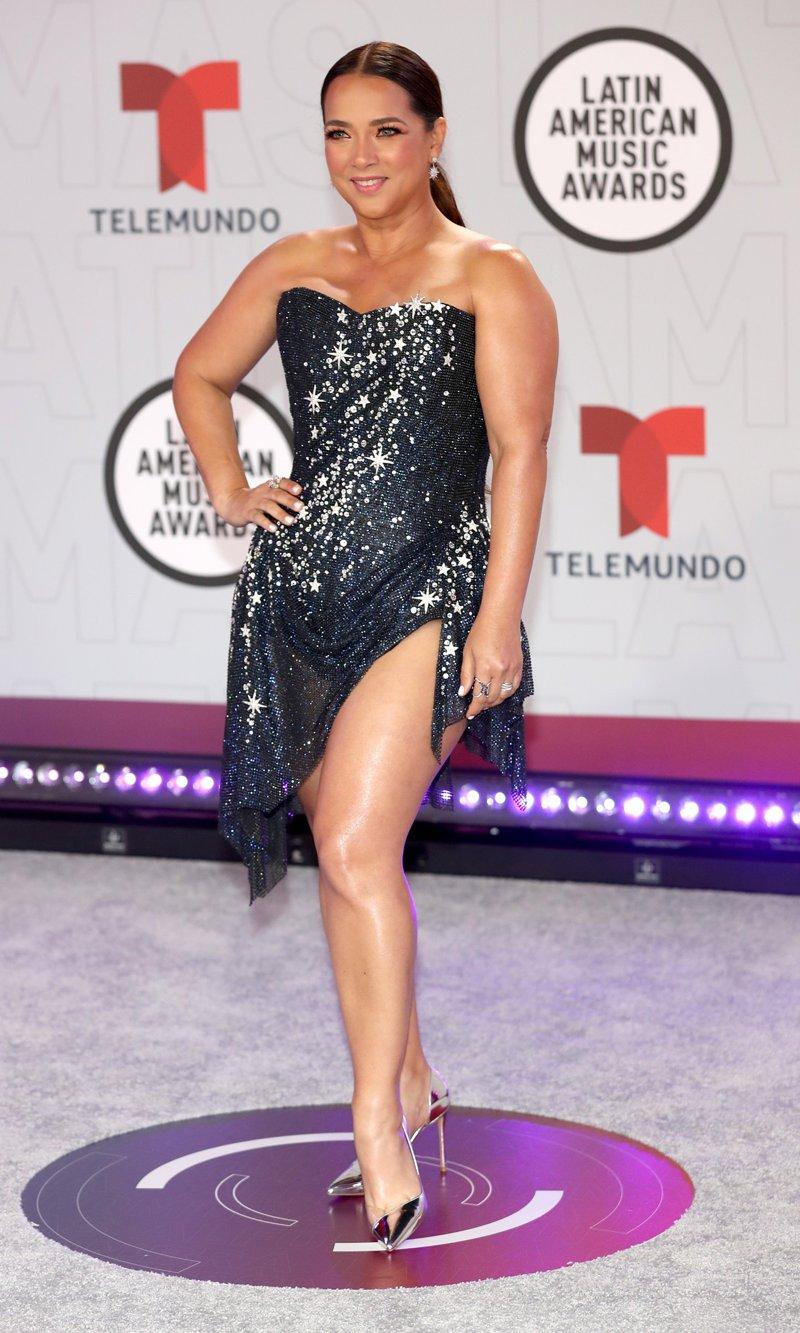 Adamari López arrasó en los Latin American Music Awards