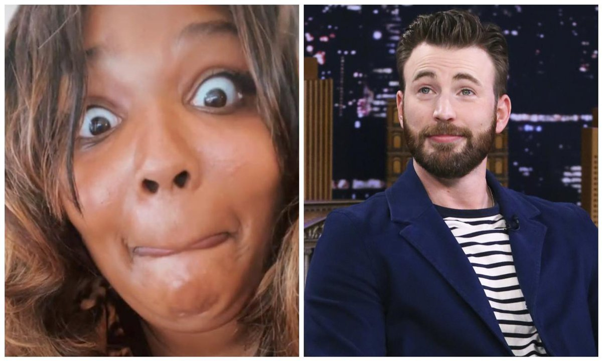 Lizzo sends Chris Evans drunken DM and his reply is perfect