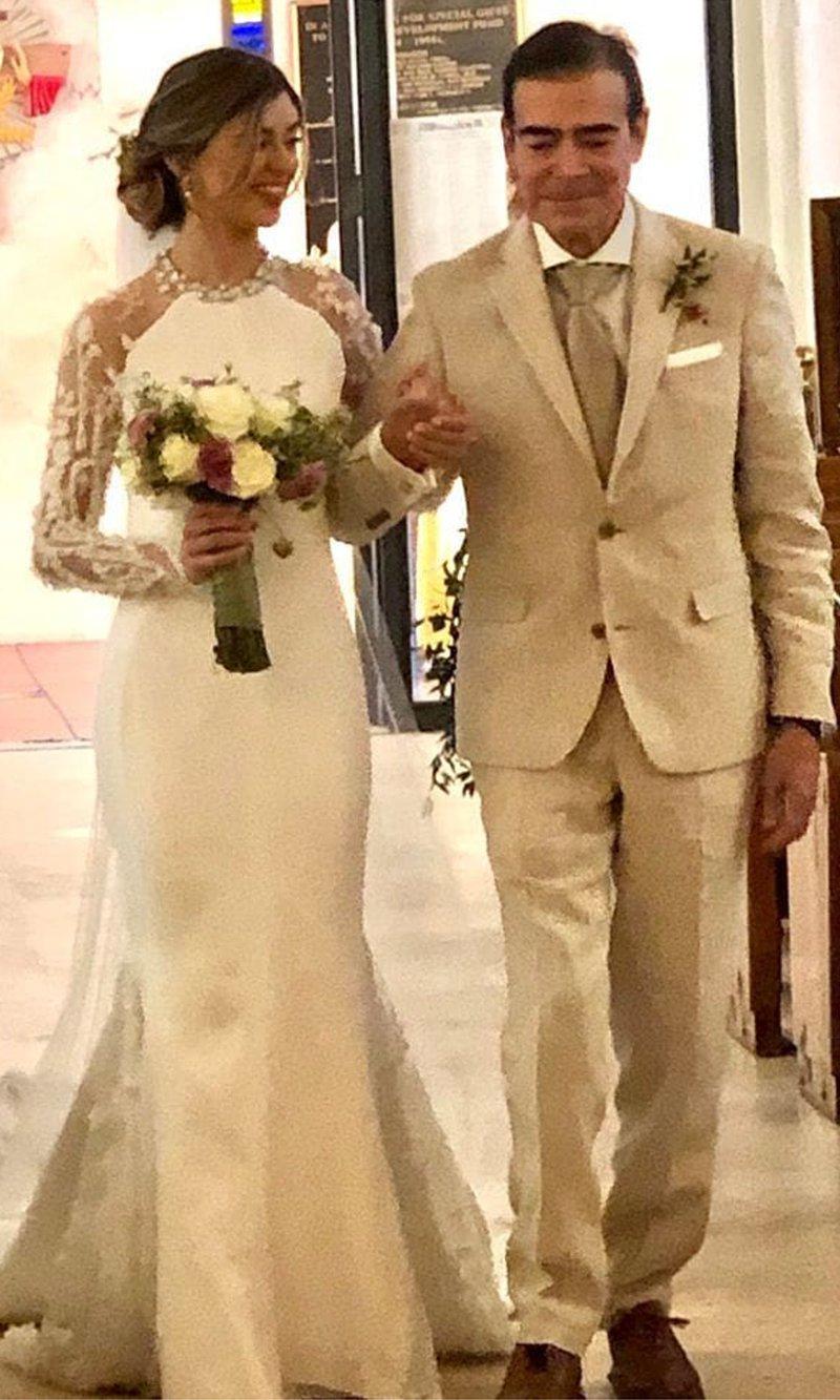 Toño Mauri wedding daughter